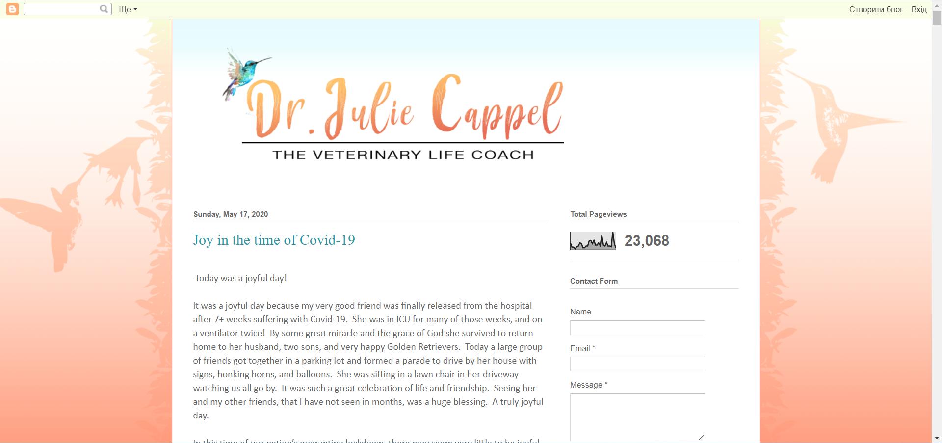 Dr Julie Cappel