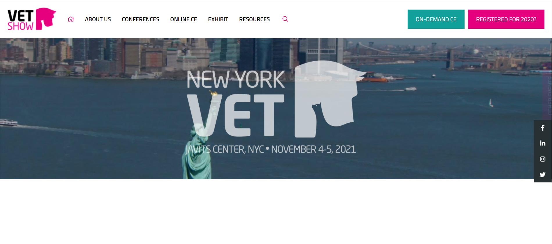 New York Vet Show