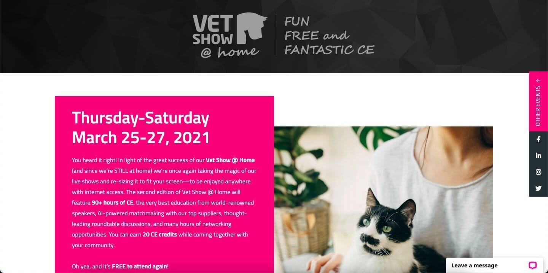 Vet Show @ Home