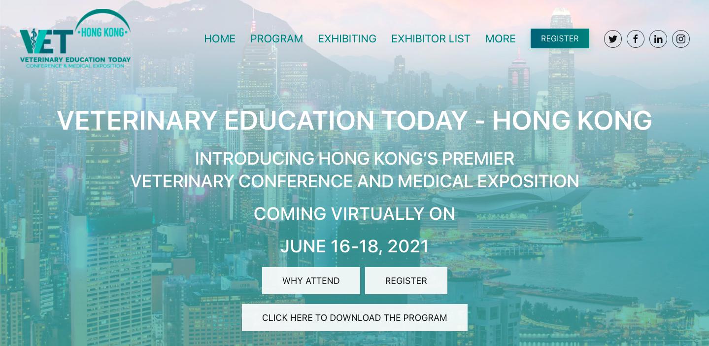 Veterinary Education Today - Hong Kong