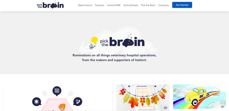 Pick the Brain blog