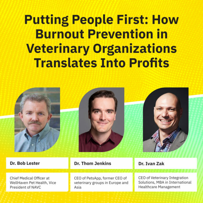 Putting People First: How Burnout Prevention in Veterinary Organizations Translates Into Profits